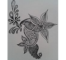 Henna-Inspired Print Photographic Print