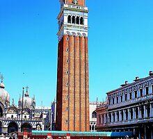 clock tower in venice by xxnatbxx
