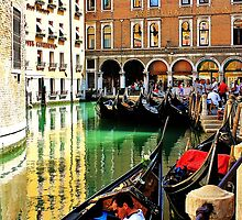 gondolas parked up  by xxnatbxx