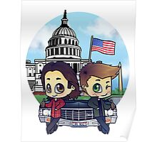 Winchesters in DC Poster
