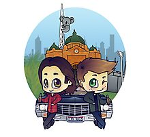 Winchesters in Melbourne Photographic Print