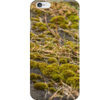 Messy moss iPhone Case/Skin