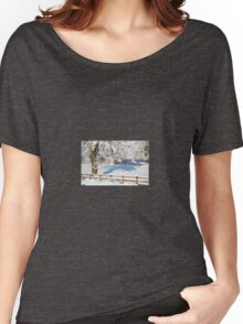 Snowy Scene Women's Relaxed Fit T-Shirt