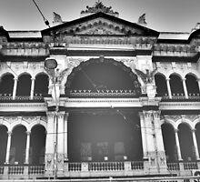 Architecture Art - Prahran 2 by Shauna Lacey