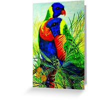 Rainbow Lovers Greeting Card