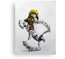 Axe Man Canvas Print