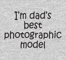 Kids Tee - dad's best model One Piece - Short Sleeve