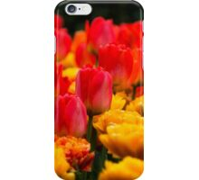Red and Yellow Flowers iPhone Case/Skin