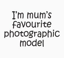 Kids Tee - mum's favourite model Kids Clothes