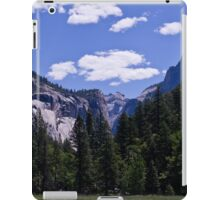 Meadow View in Yosemite 1 iPad Case/Skin