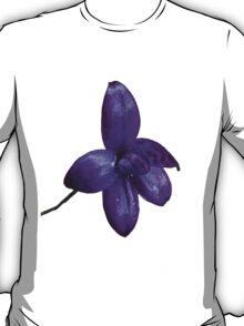 Purple Enamel Orchid T-Shirt