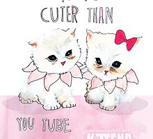 Cuter than you tube kittens by burntfeather