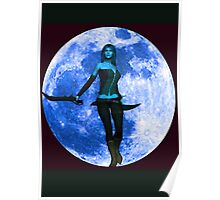 BLUE MOON WARRIOR Poster