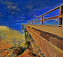 Mallabula Wharf, 2 by bazcelt