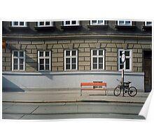 Wiener Straßen - Vienna Streets Poster