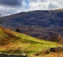 Cumbrian Landscape Sticker