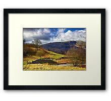 Cumbrian Landscape Framed Print