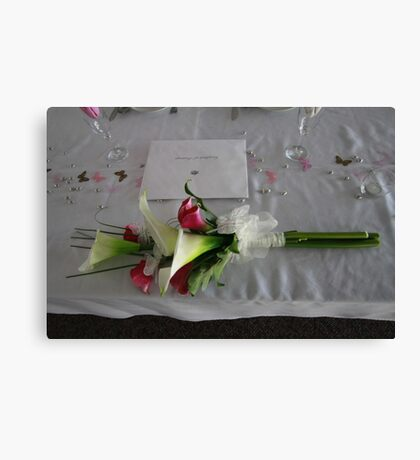 Marriage Certificate Canvas Print