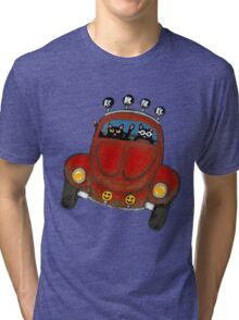 Baja Bug Cats Tri-blend T-Shirt