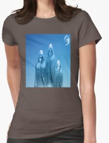 ICE BLUE SKY Womens Fitted T-Shirt
