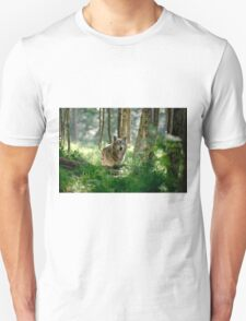 Timberwolf in Forest T-Shirt