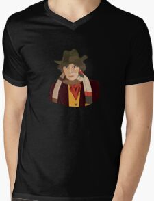 The 4th Doctor Mens V-Neck T-Shirt