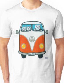 Westies in a VW Unisex T-Shirt