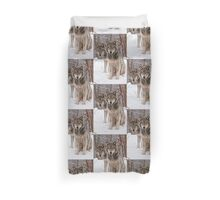 Timber Wolf Pair Duvet Cover