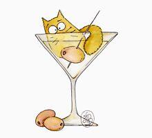 Martini Cat Unisex T-Shirt