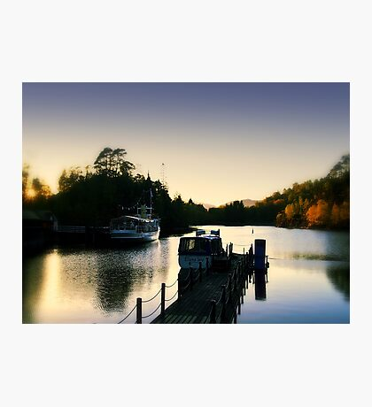 'SS Sir Walter Scott'  Steam Boat On Loch Katrine,Scotland. Photographic Print