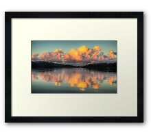 Cloudfront - Narrabeen Lakes, Sydney - The HDR Experience Framed Print