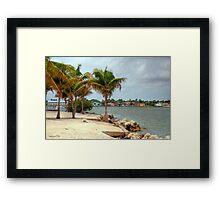 Miami Shores Framed Print
