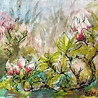 Spring Magnolia by Linandara