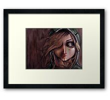 Disturbance of the pain-sensitive structures in my head Framed Print