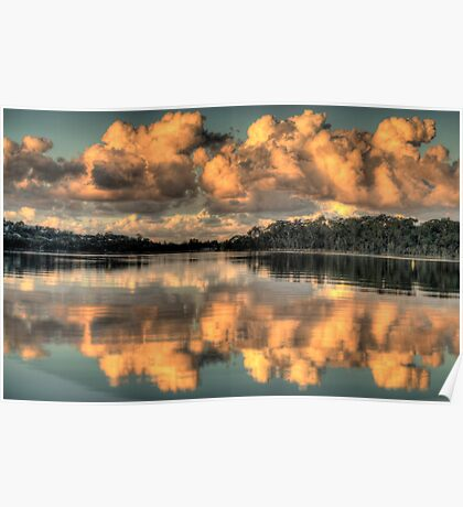 Blessings - Narrabeen Lakes - The HDR Experience Poster