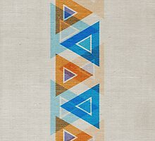Abstract Triangle Pattern by cinema4design