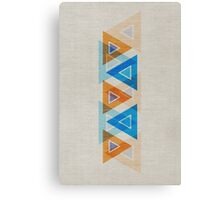 Abstract Triangle Pattern Canvas Print