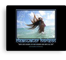 Cleanwater Horizon 04 Canvas Print