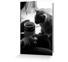 Weezy and Tea Greeting Card