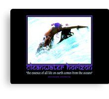 Cleanwater Horizon 11 Canvas Print