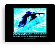 Cleanwater Horizon 12 Canvas Print