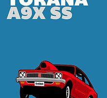 Fortitude's Holden Torana A9X SS Drag by Twain Forsythe