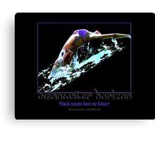 Cleanwater Horizon 14 Canvas Print