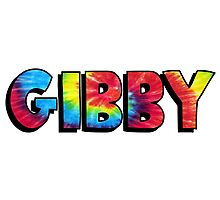 Name Tie Dye- Gibby Photographic Print