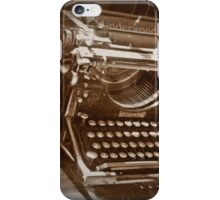 Unused, Unloved and Dusty iPhone Case/Skin