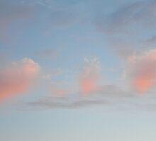 Pastel clouds by James  Kerr