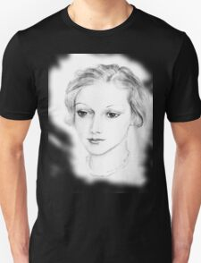 Drawing of a lovely girl T-Shirt