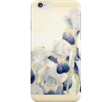 Graceful Iris - Flowing Watercolor iPhone Case/Skin