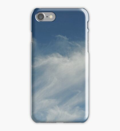 Moving cloud shapes iPhone Case/Skin