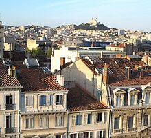 Lovely view of Marseille by daffodil